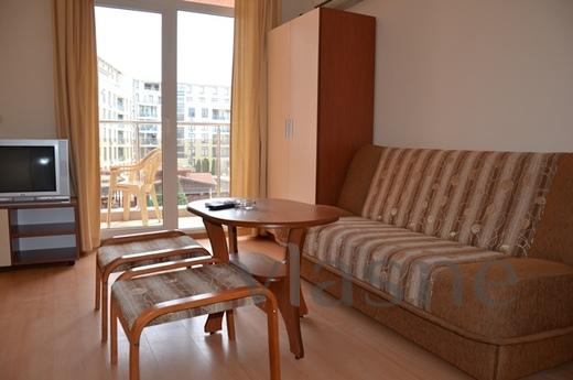 Studio in a luxury complex, rental, Nesebr - apartment by the day